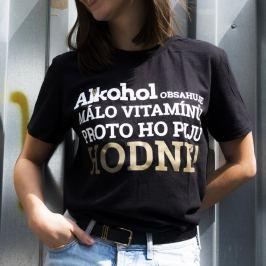 Tričko Alkohol.cz Vitamíny XL