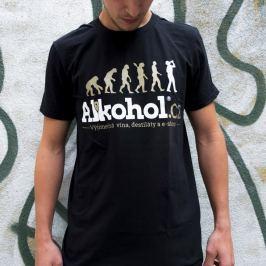 Tričko Alkohol.cz Evoluce XXL